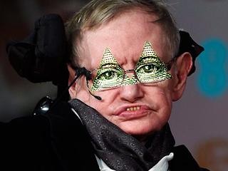 Muere Stephen Hawking el titere de la elite que promovia el Nuevo Orden Mundial