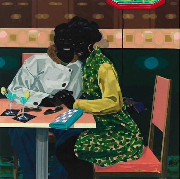 Kerry James Marshall - Untitled (Club Couple) - 2014