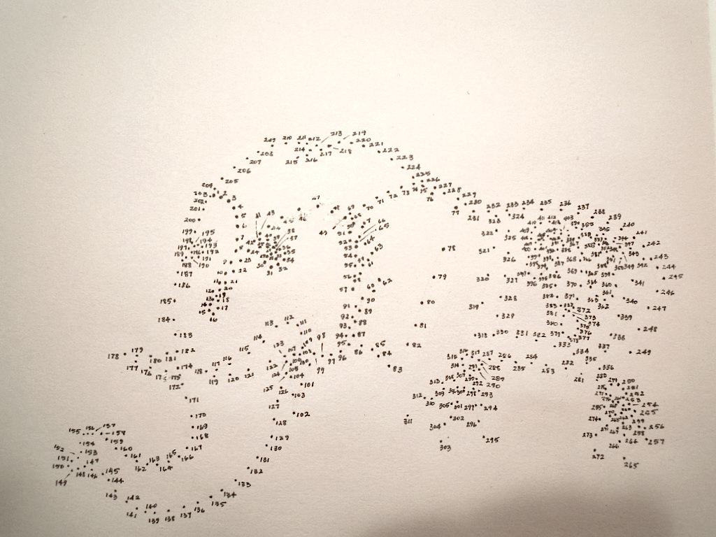 An Elephant A Day Elephant No 233 Connect The Dots