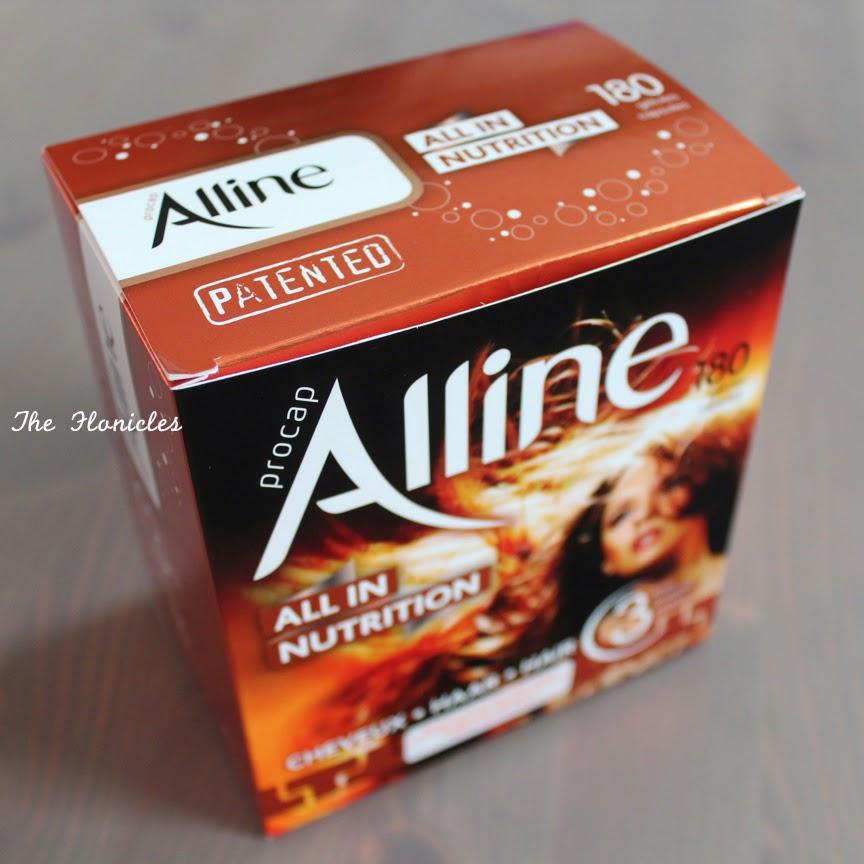 Test :  Compléments alimentaires cheveux Alline procap