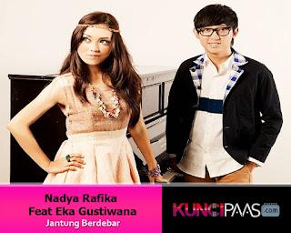 Foto Gambar Image Nadya Rafika Feat Eka Gustiwana - Jantung Berdebar