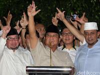 Prabowo: Saya Tidak Akan Menyerah