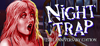 Night Trap 25th Anniversary Edition Game Logo