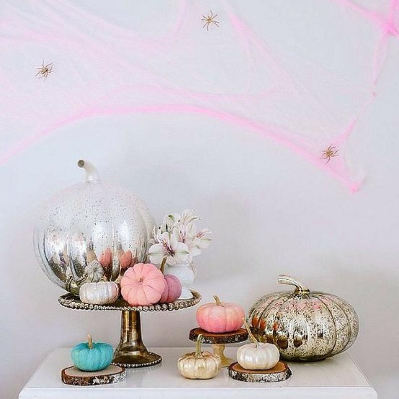 Pink Halloween by Habitan2 | Fiestas personalizadas | Diseño digital low cost | Papelería bonita