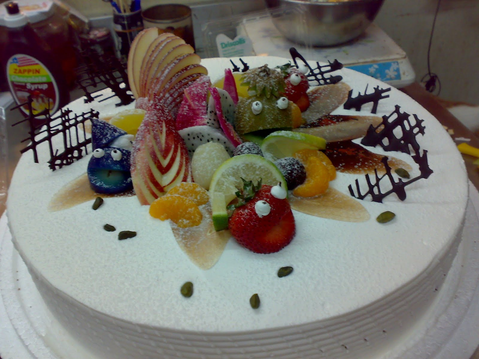 Mummy S Cake Birthday Cake