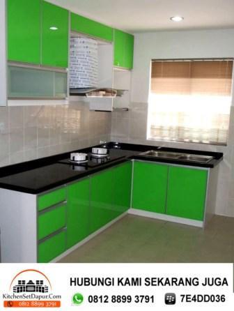 Jasa pembuatan kitchen set bogor cara desain dapur for Cara bikin kitchen set