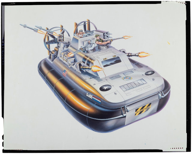 1995 Sea Wolf, Whale, Hovercraft, Battle Corps Rangers, Cutter, Unproduced