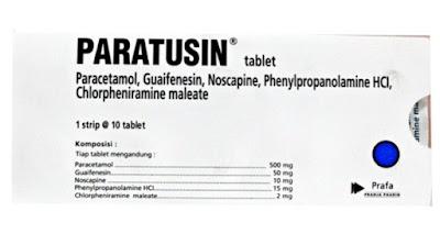 Paratusin - Manfaat, Efek Samping, Dosis dan Harga