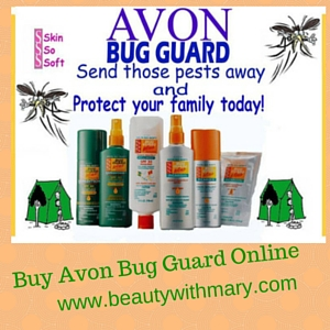 How to Ward Off Mosquitoes with Avon
