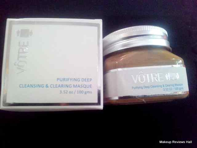 Votre Cleansing & Clearing Masque Review