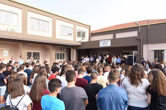Περιφέρεια Πελοποννήσου: Και το νέο σχολείο στο Κουτσοπόδι φέρει την υπογραφή Πέτρου Τατούλη