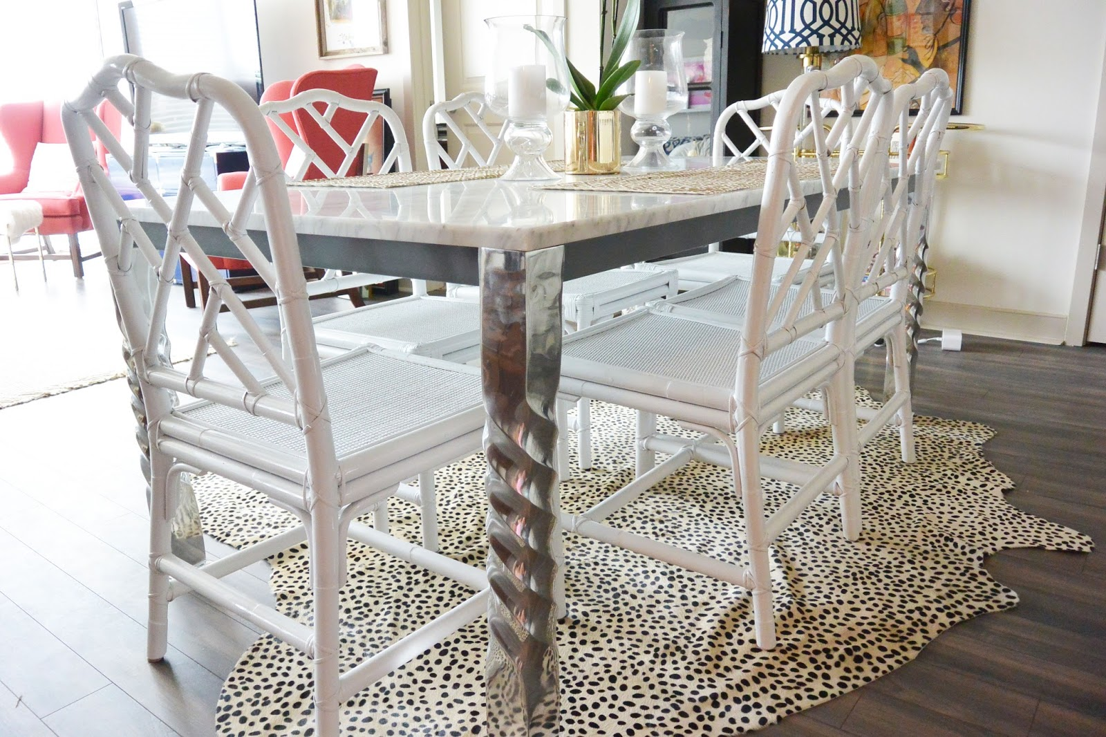 Life with a Dash of Whimsy: Chinese Chippendale Chairs DIY