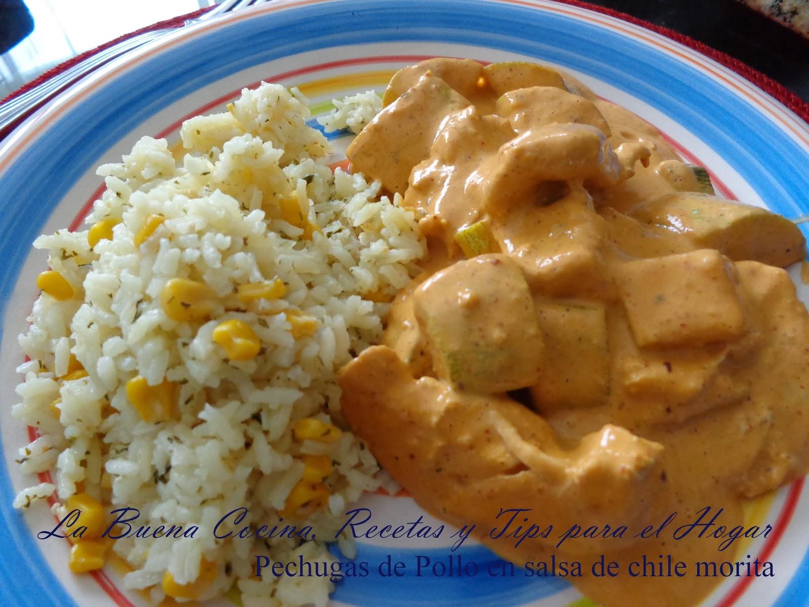La Buena Cocina Recetas Y Tips Para El Hogar Pechugas De Pollo En - Recetas-de-cocina-con-pollo