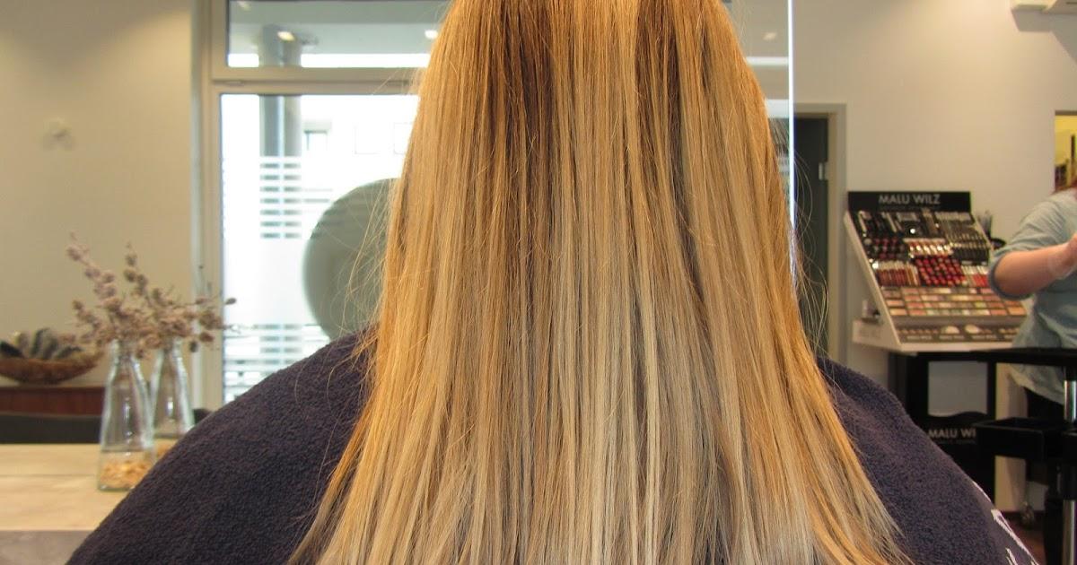 Die Wiederherstellung des beschädigten Haares nach der Färbung