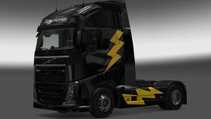 Thunder skin for Volvo 2012