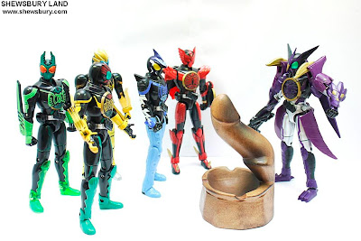 OOO Combo Change 08 Kamen Rider OOO Putotyra Combo
