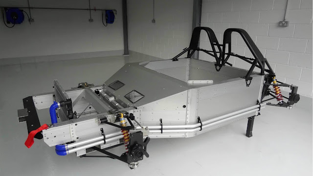Frame of VUHL 05 sports car