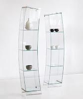 camekan, eğik camlı vitrin