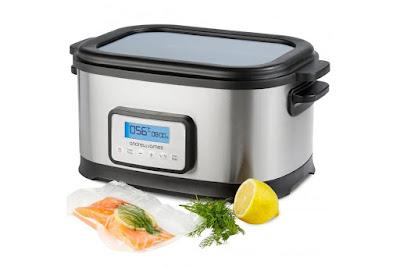 Sous-vide, máquina para cocción lenta al vacío