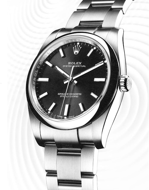 Rolex Oyster Perpetual 34 Black Dial Ref. 114200