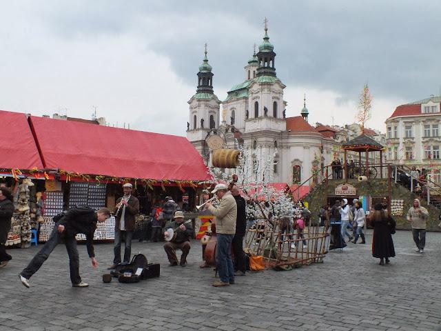 Plaza del Ayuntamiento de Praga
