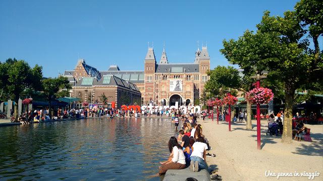 dov'è la scritta I am Amsterdam?