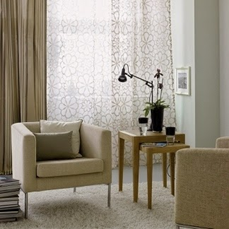 Cortinas para living salas con estilo for Cortinas de living