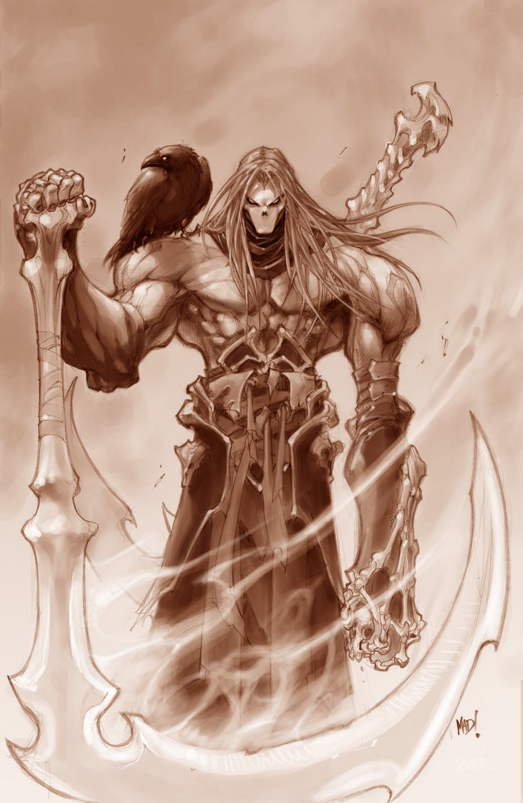 The Video Game Blog Darksiders Ii Trades War For Death