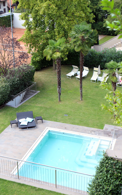 Pool im Designhotel Muchele