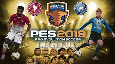 PES 2019 PS4 Classic Option File Dream Teams by Emerson Pereira