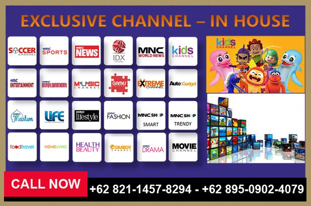 Promo Dan Daftar Channel Indovision Terbaru 082114578294