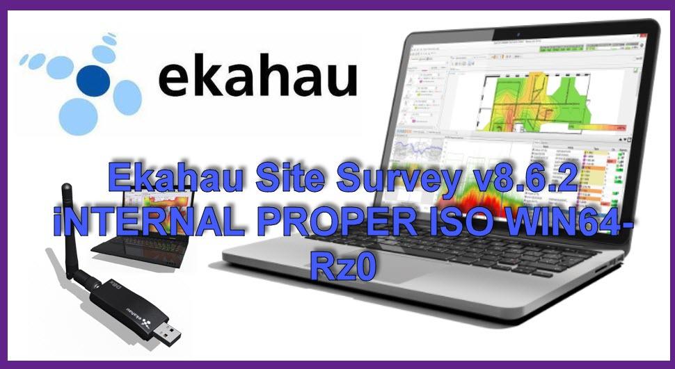 موسوعة تاك: شرح وتحميل برنامج Ekahau Site Survey v8 6 2