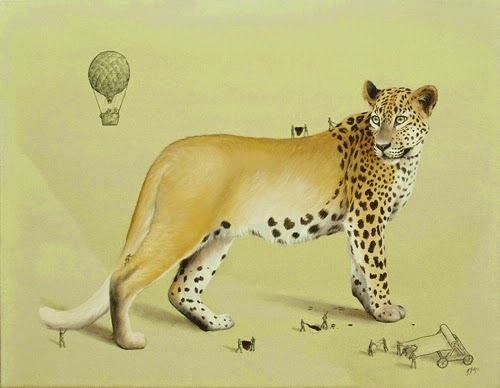 04-Leopard-Ricardo-Solis-Animal-Paintings-and-their-Back-Story-www-designstack-co
