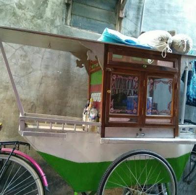gambar model gerobak sate ayam terbaru