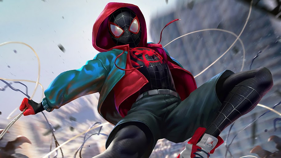 Miles Morales Spider Man Into The Spider Verse 4k 3840x2160 22