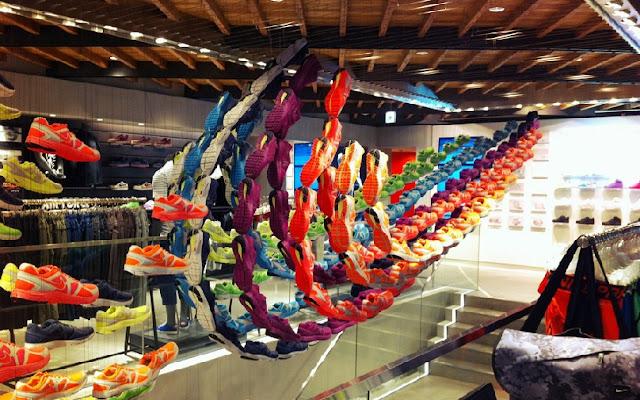 Como são as lojas da Nike em Miami