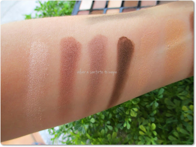 THE NUDES PALETTE de Maybelline: Review + Swatches