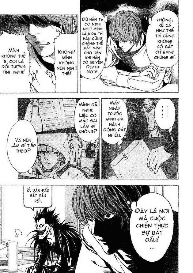 Death Note chapter 010 trang 22