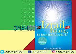 E-Book: Izrail Bilang, Ini Ramadhan Terakhirku