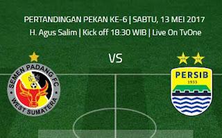 Semen Padang FC vs Persib Bandung: