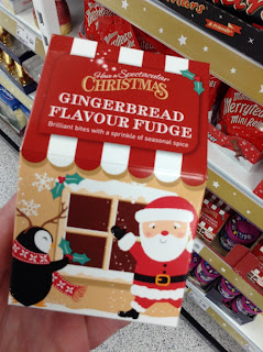 asda gingerbread fudge