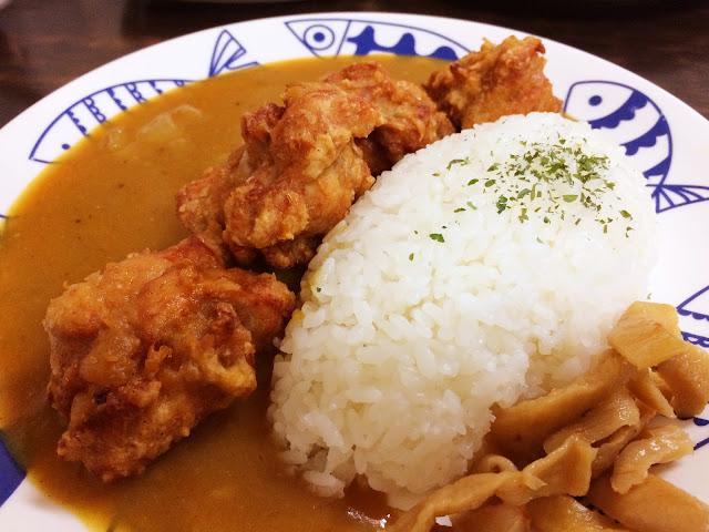 唐揚雞塊咖哩飯