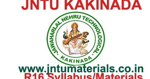 JNTUK B Tech CSE 3-1 Sem (R16) Syllabus / Lab Syllabus
