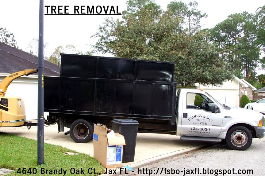 4640 Brandy Oak Court - Camden and Son Tree Service Wood Chipper
