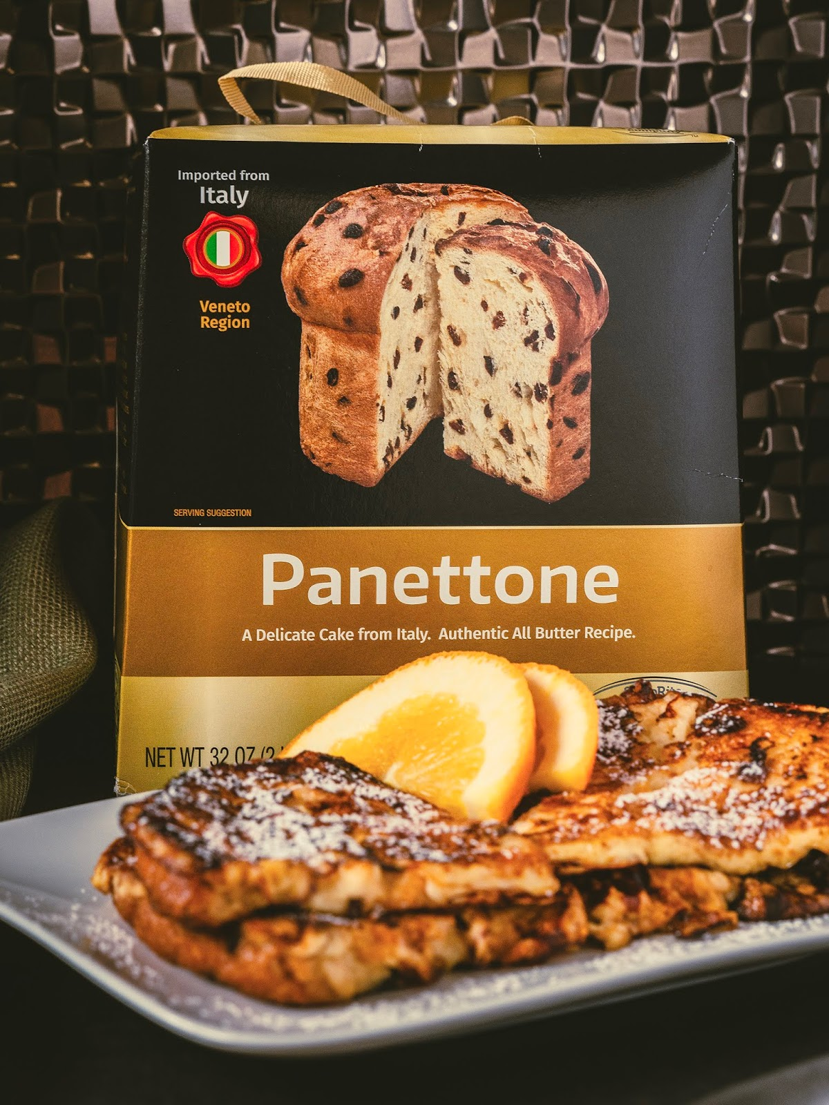 Boozy Panettone French Toast using ShopRite Trading Co. Panettone | Local Food Rocks