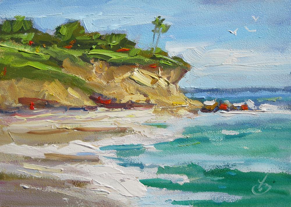 Ocean Landscape Oil Paintings