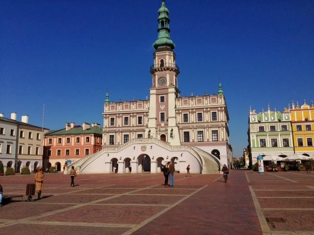 Ratusz w Zamościu, Zwiedzanie Zamościa, ciekawe miejsca w Zamościu, Zamość na weekend.