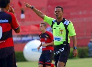 Arilson Bispo apita 1º Ba-Vi da semifinal da Copa do Brasil sub-20