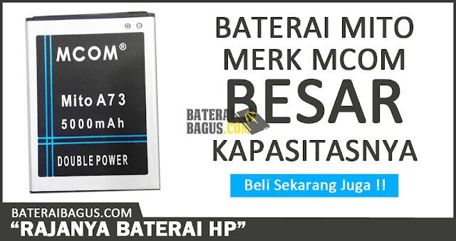 Baterai Mito Merk Mcom Double Power 5000mAh