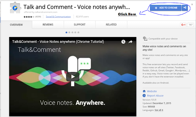 Send Voice Messages on Facebook